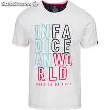 Camiseta indian world - white