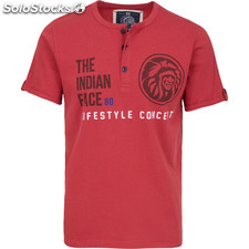 Camiseta life style concept - brown - the indian face - 8433856055153 -