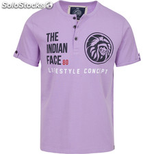 Camiseta life style concept - purple - the indian face - 8433856055139 -