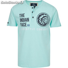 Camiseta life style concept - soft blue - the indian face - 8433856055214 -