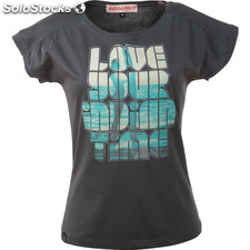 Camiseta love your indian time lead - lead - the indian face - 8433856049114 -