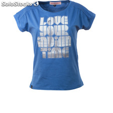 Camiseta love your indian time royal blue - royal blue - the indian face -