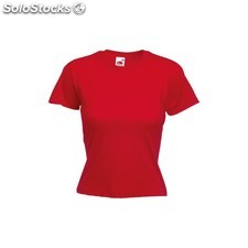 Camiseta mujer color valueweight rojo Talla s