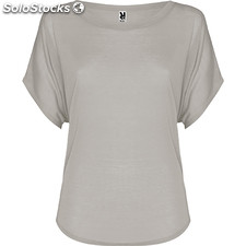 Camiseta Mujer s gris perla oversize collection