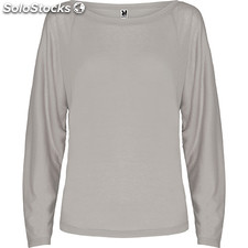 Camiseta Mujer xl gris perla oversize collection