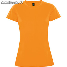 Camiseta Mujer xxl naranja fluor sport collection