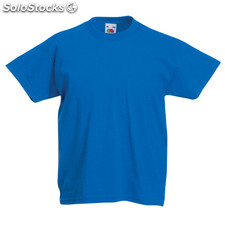 Camiseta niño color azul royal valueweight