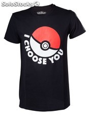 Camiseta pokemon choose xl PLL02-CTS120312POKX