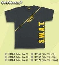 Camiseta S.W.A.T., police, F.B.I mangas cortas airsoft