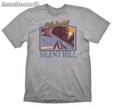 Camiseta Silent Hill Wellcome To Silent Hill L