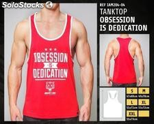 Camiseta sin mangas - obsession is dedication