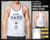 Camiseta sin mangas - Pushing hard since ever