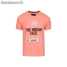 Camiseta size big wave - pink