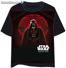 Camiseta Star Wars Rogue One Vader Moon S