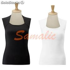 Camiseta stretch top sin mangas de mujer ref. R990F russell