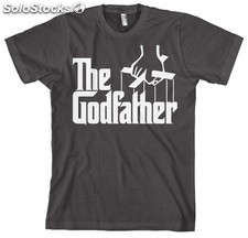 Camiseta the godfather logo m PLL02-CTGF007M