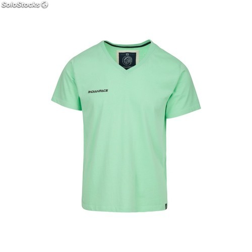 Camiseta the indian face basic - green