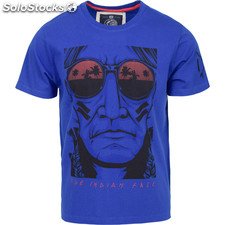 Camiseta the urban chief - royal blue - the indian face - 8433856054811 -