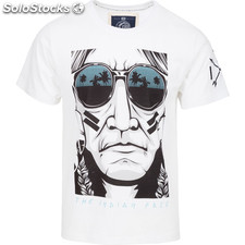 Camiseta the urban chief - white - the indian face - 8433856054859 -