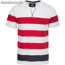 Camiseta tif stripes - white