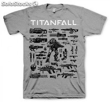 Camiseta titanfall choose your weapon m PLL02-CGE1687M