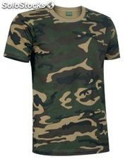 Camiseta Typed estampado jungla 160grs.