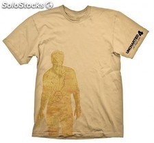 Camiseta uncharted nathan drake map m PLL02-CGE1888M