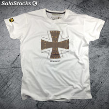 Camiseta wwii legends retro Alemania premium Blanco xxl