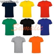 Camisetas adulto color 100% algodon ref T1511 cifra