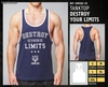 Camisetas sin Mangas - Destroy your limits
