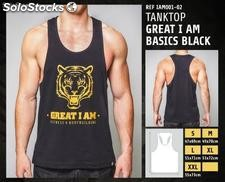 Camisetas sin Mangas - great i am basics black