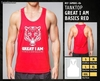 Camisetas sin Mangas - great i am basics red