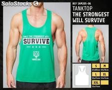 Camisetas sin Mangas - Only the strongest will survive