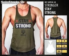 Camisetas sin Mangas - Stay strong