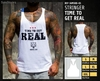 Camisetas sin Mangas - Time to get real