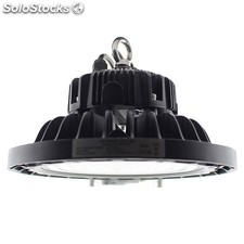 Campana led industrial ufo 150w nichia + meanwell driver 0-10v regulable blanco