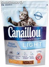 Canaillou croq.chat LIGHT1.5KG