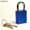 Candado Lockout X05 color Azul