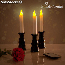Candele LED Romantic Ambiance EmotiCandle (pacco da 3)