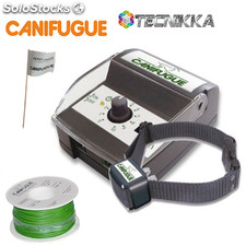 Canicom Canifugue. Vallado invisible perros. Sistema antiescapes. Kit completo