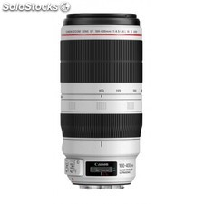 Canon - ef 100-400mm f/4.5-5.6L is ii usm slr Telephoto lens Negro, Color blanco