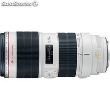 Canon ef 70-200 mm f / 2.8 l is ii usm Objetivo Telefoto Zoom