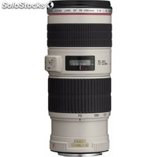 Canon - ef 70-200mm f/4L is usm slr Teleobjetivo Blanco