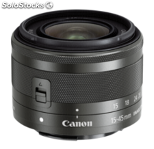 Canon ef-m 3,5-6,3/15-45 is stm negro