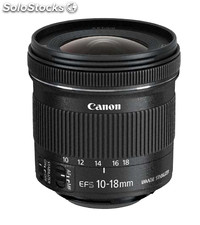 Canon ef-s 10-18 f/4.5-5.6 is stm ultra-wide lens negro