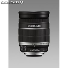 Canon - ef-s 18-200mm f/3.5-5.6 is slr Negro
