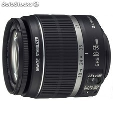 Canon - ef-s 18-55mm f/3.5-5.6 is ii slr Standard zoom lens Negro