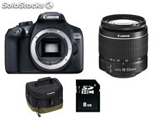 Canon eos 1300D get started accessory kit réflex con objetivo ef-s 18-55mm iii +