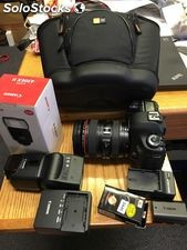 Canon eos 5D Mark iii Digital slr com a ef 24-105mm l is & 70-200mm