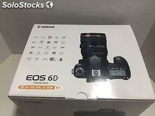 Canon eos 6D (wg) Aparat cyfrowy Canon ef 24-105mm f / 4L is usm Lens Kit